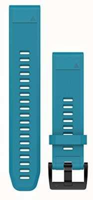 Garmin Cirrus blaues Gummiband quickfit 22mm fenix 5 / Instinkt 010-12496-04