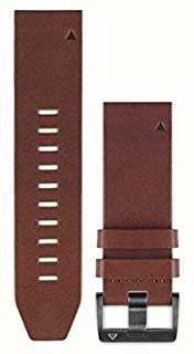 Garmin Braunes Lederarmband quickfit 22mm fenix 5 / Instinkt 010-12496-05