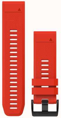 Garmin Flammroter Gummi Quickfit 26mm Fenix 5x / Tactix Charlie 010-12517-02