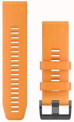 Garmin Orange Gummiband Quickfit 26mm Fenix 5x / Tactix Charlie 010-12741-03