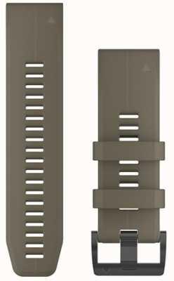Garmin Tan Gummiband Quickfit 26mm Fenix 5x / Tactix Charlie 010-12741-04
