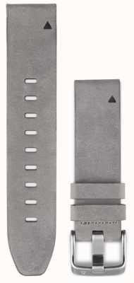 Garmin Graues Wildlederarmband quickfit 20mm fenix 5s 010-12491-16