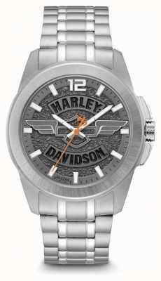 Harley Davidson Nur für Männer Edelstahlarmband 76B180