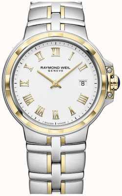 Raymond Weil Parsifal zweifarbig | Gold und Edelstahl | Herrenuhr 5580-STP-00308