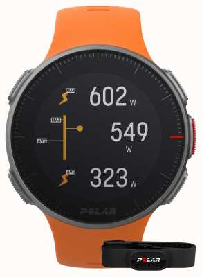 Polar Vantage v (mit Gurt) GPS Multisport Orange Gurt 90069666