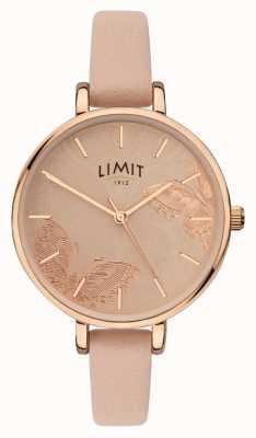 Limit | Damen-Gartenuhr | Pfirsichschmetterlingszifferblatt | 60014