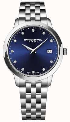 Raymond Weil Frauen toccata | blaues Zifferblatt | Edelstahl-Armband 5988-ST-50081