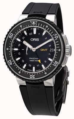 Oris Prodiver gmt automatische schwarze Uhr 01 748 7748 7154-07 4 26 74TEB