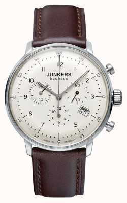 Junkers Braunes Lederarmband aus bauhaus Herren Herren 6086-5