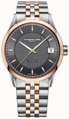 Raymond Weil | Herren Freelancer Uhr | Edelstahl und Rotgold | 2740-SP5-60021