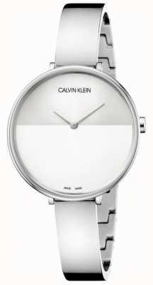 Calvin Klein | Frauen steigen | Edelstahlarmband | zweifarbiges Zifferblatt | K7A23146