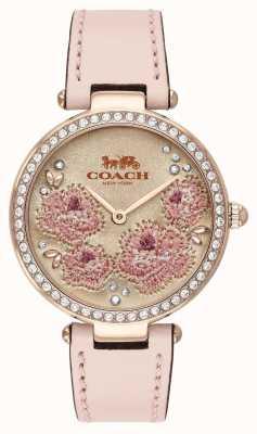 Coach | Damen Parkuhr | rosa Lederband | 14503285