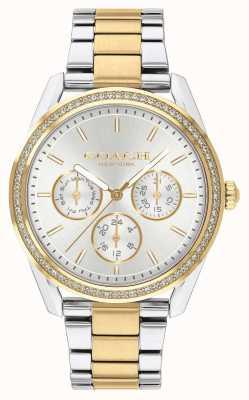 Coach | Preston-Uhr | Chronograph zweifarbig Silber und Gold | 14503268