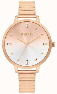 Missguided | Damenuhr aus Roségold | MG012RGM