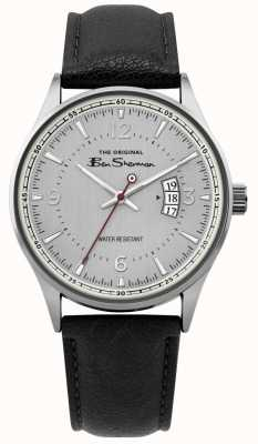 Ben Sherman | Herren Silber Mesh Skript Uhr | BS008B