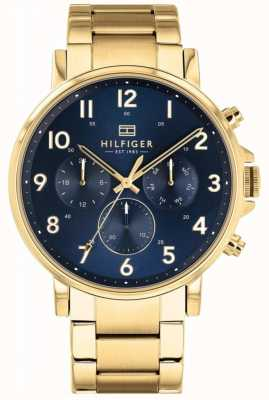 Tommy Hilfiger | Herren gold daniel watch | 1710384