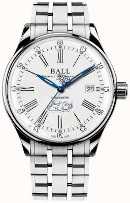 Ball Watch Company Trainmaster Endeavour Chronometer Limited Edition Armband NM3288D-S2CJ-WH