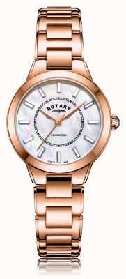 Rotary | damen roségold armband | LB05379/41