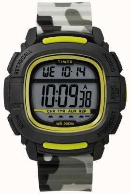Timex | Boost Shock schwarz / limone / camo digital | TW5M26600SU