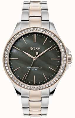 Hugo Boss | Damen zweifarbiges Edelstahlarmband | 1502452