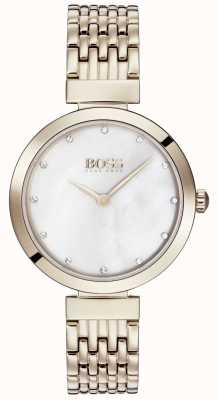Hugo Boss | damenarmband aus hellgold roségold | 1502480