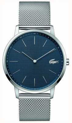 Lacoste | Herrenmond | Armband aus Stahlgewebe | blaues Zifferblatt | 2011005