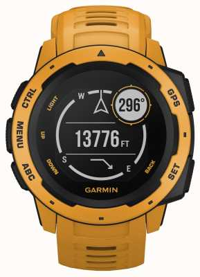 Garmin Instinct Sunburst Gps-Silikonarmband für den Außenbereich 010-02064-03