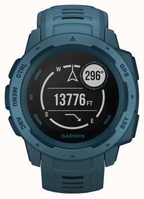 Garmin Instinct Seeufer blau Outdoor GPS Silikonband 010-02064-04