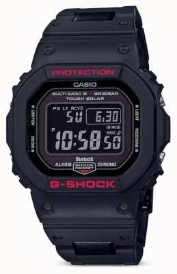 Casio Herren G-Shock Heritage schwarzer Kunststoffarmband GW-B5600HR-1ER