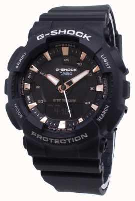 Casio G-Shock Step Tracker schwarzer Resin Gurt GMA-S130PA-1AER