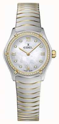 EBEL Damen Sportklassiker 53 Diamanten 18 Karat Gelbgold 1216412A