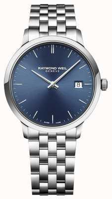 Raymond Weil | Herren toccata | klassischer Edelstahl | blaues Zifferblatt | 5485-ST-50001