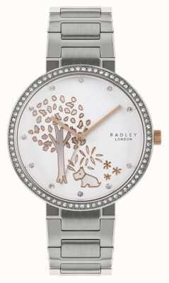 Radley | Damenarmband aus Edelstahl | Baummotiv Zifferblatt | RY4387