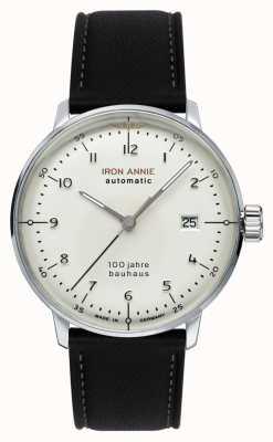 Iron Annie Bauhaus | automatisch | schwarzes Lederband | 5056-1