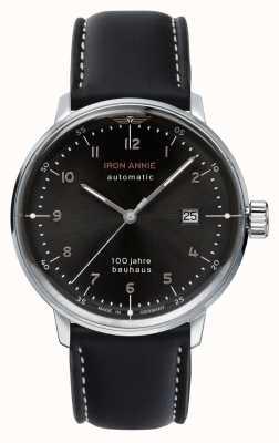 Iron Annie Bauhaus | automatisch | schwarzes Lederband | 5056-2