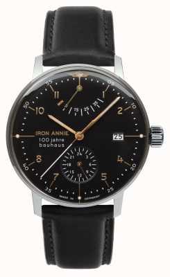 Iron Annie Bauhaus | automatisch | Gangreserve | schwarz | 5066-2