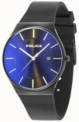 Police Siliconarmband für Herren aus dem Hause New Horizon 15045JBCB/02PA