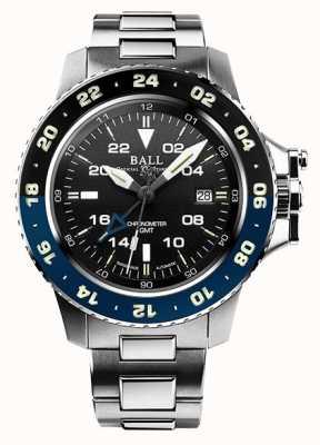 Ball Watch Company Ingenieur Kohlenwasserstoff Limited Edition Aerogmt II 42mm schwarz DG2018C-S5C-BK