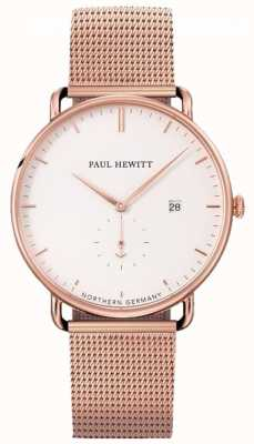 Paul Hewitt Grand Atlantic Mesh Armbanduhr PH-TGA-R-W-4S