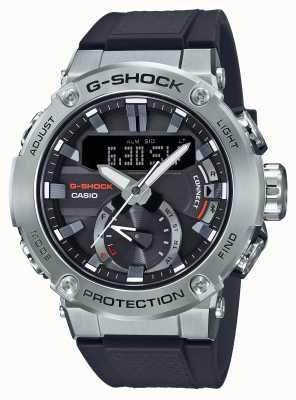 Casio G-stahl g-shock bluetooth link 200m wr kautschukband GST-B200-1AER