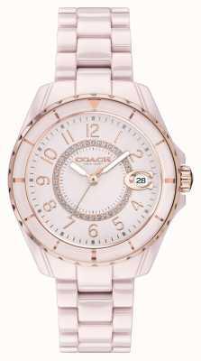 Coach | Frauen | Preston | rosa keramik armband | rosa zifferblatt | 14503463