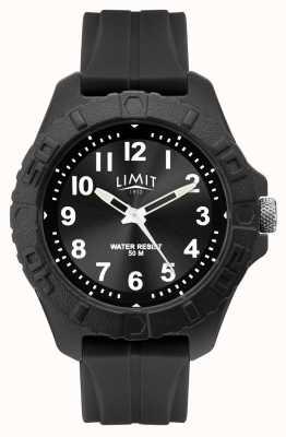 Limit | herren aktives erwachsenes analog | schwarzes Kautschukband | 5754.01