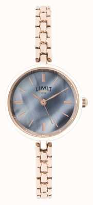 Limit | Damen Roségold Armband | blaues Zifferblatt | 60064.01