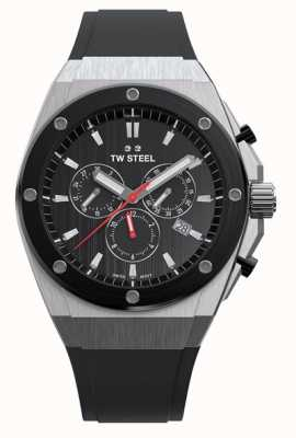 TW Steel | ceo tech limited edition | Chronograph | schwarzer Gummi | CE4042