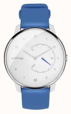 Withings Bewegen Sie ecg | weiß & blau | Aktivitäts-Tracker HWA08-MODEL 2-ALL-INT