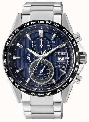 Citizen | Herren Eco-Drive Funkwelle h800 | Titan Armband | AT8154-82L