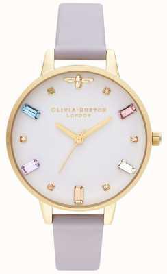 Olivia Burton | Frauen | Regenbogenbiene | demi parma violet strap | OB16RB11