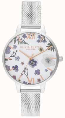 Olivia Burton | Frauen | Handwerker | Edelstahlgewebe Armband | OB16AR09