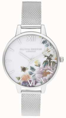 Olivia Burton | Frauen | verzauberte gärten | stahlgeflecht armband | OB16EG136