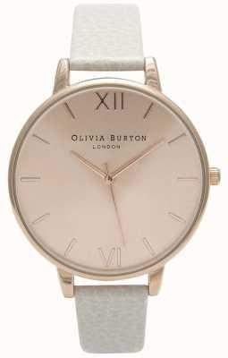 Olivia Burton | Frauen | Sonnenstrahl Zifferblatt | Nerz Lederband | OB13BD11